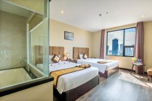 Ocean Haven Hotel, Hotely  Da Nang - big - 54