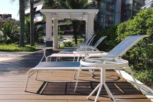 Barra da Tijuca RJ - Unique Flats, Apartmánové hotely  Rio de Janeiro - big - 9