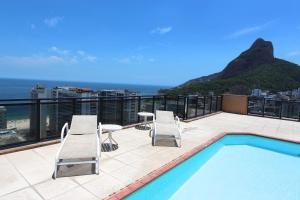 Rio Top Leblon Residence 1002, Apartmány  Rio de Janeiro - big - 21