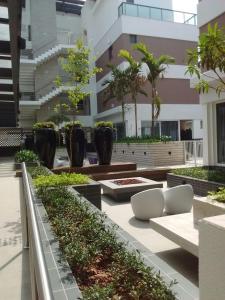 Apartamento Beira Mar Novo Campeche, Appartamenti  Florianópolis - big - 15