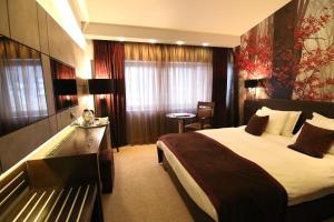 Queen's Hotel, Отели  Скопье - big - 9