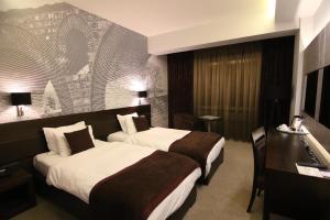Queen's Hotel, Отели  Скопье - big - 14