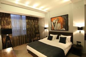 Queen's Hotel, Отели  Скопье - big - 17