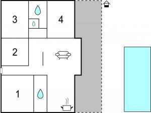 Three-Bedroom Holiday home Marcana with a Fireplace 09, Prázdninové domy  Marčana - big - 23