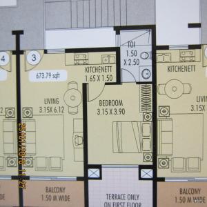 Apartment C 403, Apartmány  Arpora - big - 11