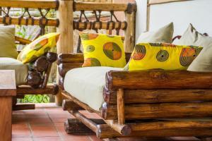 Ichumbi Gorilla Lodge, Chaty v prírode  Kisoro - big - 11