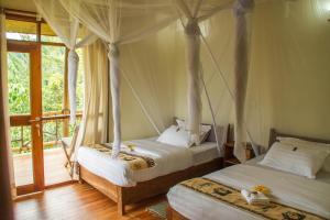 Ichumbi Gorilla Lodge, Chaty v prírode  Kisoro - big - 4