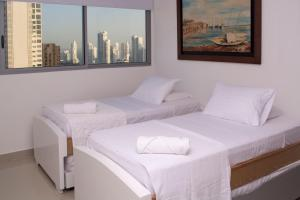 Amazing 2 Bedroom on Bocagrande Beach, Ferienwohnungen  Cartagena de Indias - big - 12
