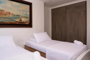 Amazing 2 Bedroom on Bocagrande Beach, Ferienwohnungen  Cartagena de Indias - big - 19