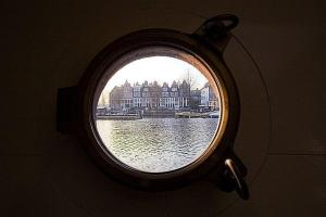 Houseboat Ms Luctor, Botely  Amsterdam - big - 17