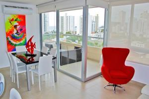 Apartamentos Suiteline Plus – Vista infinita, Apartments  Santa Marta - big - 26