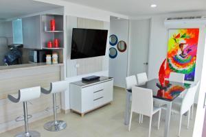 Apartamentos Suiteline Plus – Vista infinita, Apartments  Santa Marta - big - 22