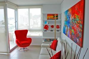 Apartamentos Suiteline Plus – Vista infinita, Apartments  Santa Marta - big - 20