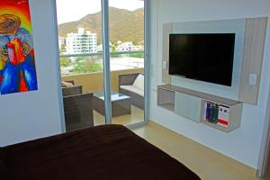 Apartamentos Suiteline Plus – Vista infinita, Apartments  Santa Marta - big - 17