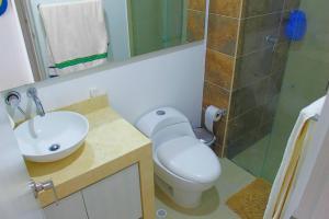 Apartamentos Suiteline Plus – Vista infinita, Apartments  Santa Marta - big - 8