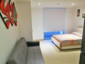 Apartamentos Suiteline Plus – Vista infinita, Apartments  Santa Marta - big - 2