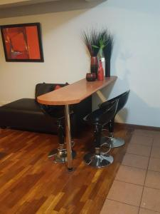 Acogedor departamento amoblado en Miraflores, Apartmány  Lima - big - 11