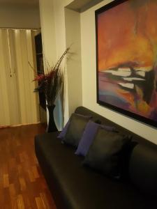 Acogedor departamento amoblado en Miraflores, Apartmány  Lima - big - 9