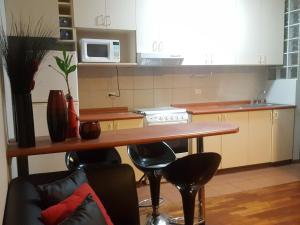 Acogedor departamento amoblado en Miraflores, Apartmány  Lima - big - 2