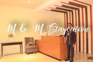 M & M Staycation, Appartamenti  Manila - big - 45