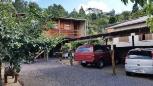 Casa de madeira em Caxias do Sul, Prázdninové domy  Caxias do Sul - big - 20