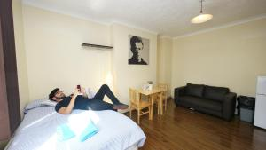 Accommodation London, Хостелы  Лондон - big - 12