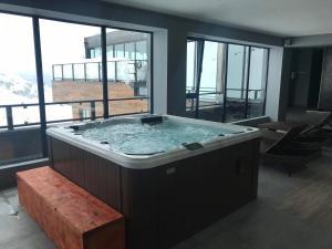 Mgzavrebi Gudauri apartment 111, Appartamenti  Gudauri - big - 20