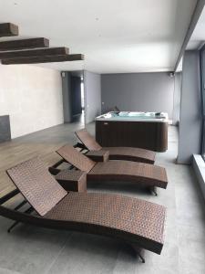 Mgzavrebi Gudauri apartment 111, Appartamenti  Gudauri - big - 22