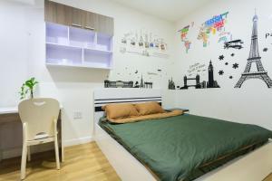 Galaxy 3-Bedroom Apartment, Apartmány  Ho Či Minovo Město - big - 67