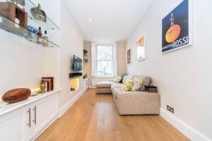 2 Bedroom Apartment Sleeps 3 in Battersea, Apartmány  Londýn - big - 9