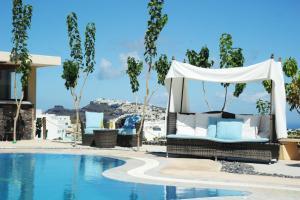 Santorini Mesotopos, Апарт-отели  Тира - big - 63