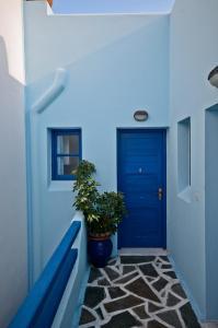 Galazia Studios, Apartmánové hotely  Naxos Chora - big - 42