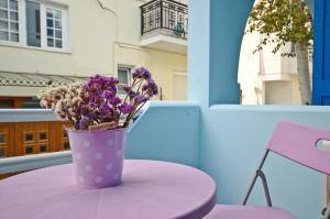Galazia Studios, Apartmánové hotely  Naxos Chora - big - 37