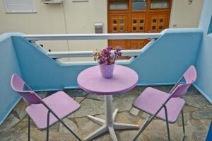 Galazia Studios, Apartmánové hotely  Naxos Chora - big - 36