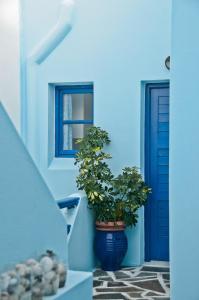 Galazia Studios, Apartmánové hotely  Naxos Chora - big - 44