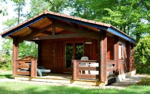Camping Naturiste Terme d'Astor, Kempy  Saint-Avit-Rivière - big - 15
