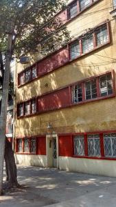 Alojamiento en Narvarte, Ubytování v soukromí  Mexico City - big - 8