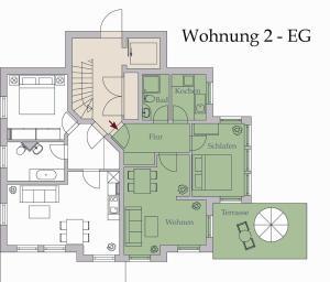 Neue Villa Ernst 02, Apartments  Bansin - big - 9