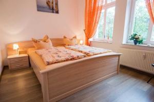 Villa Malve Wohnung 05, Apartmány  Bansin - big - 2