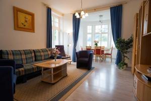 Villa Malve Wohnung 05, Apartmány  Bansin - big - 4