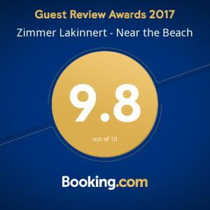 Zimmer Lakinnert Near the Beach