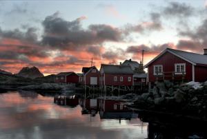 Svinøya Rorbuer, Üdülőparkok  Svolvær - big - 26