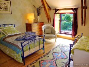 Chambres d'Hôtes Logis de l'Etang de l'Aune, Bed & Breakfasts  Iffendic - big - 9
