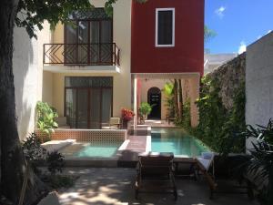 Мерида - Casa Italia Yucatan Luxury Guest House.