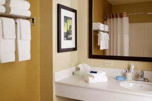 Bathroom Extended Stay America Chicago-Lisle