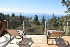 The Cabin: A Sooke Ocean & Mountain View Acreage