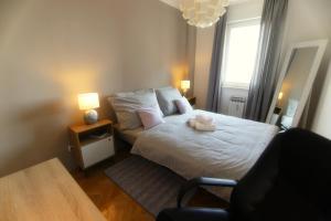 A Picture of Westcity apartment Rijeka