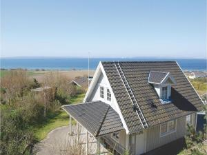 Three Bedroom Holiday home Knebel with Sea View 05