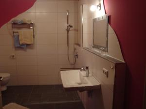 Bathroom Ferienhaus Brutting