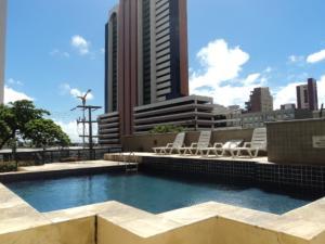 Flat Via Venetto Meirelles, Apartmány  Fortaleza - big - 6
